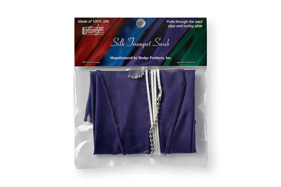 Hodge Silk Trumpet Swab - Deep Purple