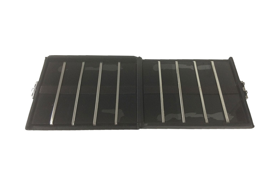 10-Reed Leather Tenor Sax/Bass Clarinet Reed Case Doublesided #7