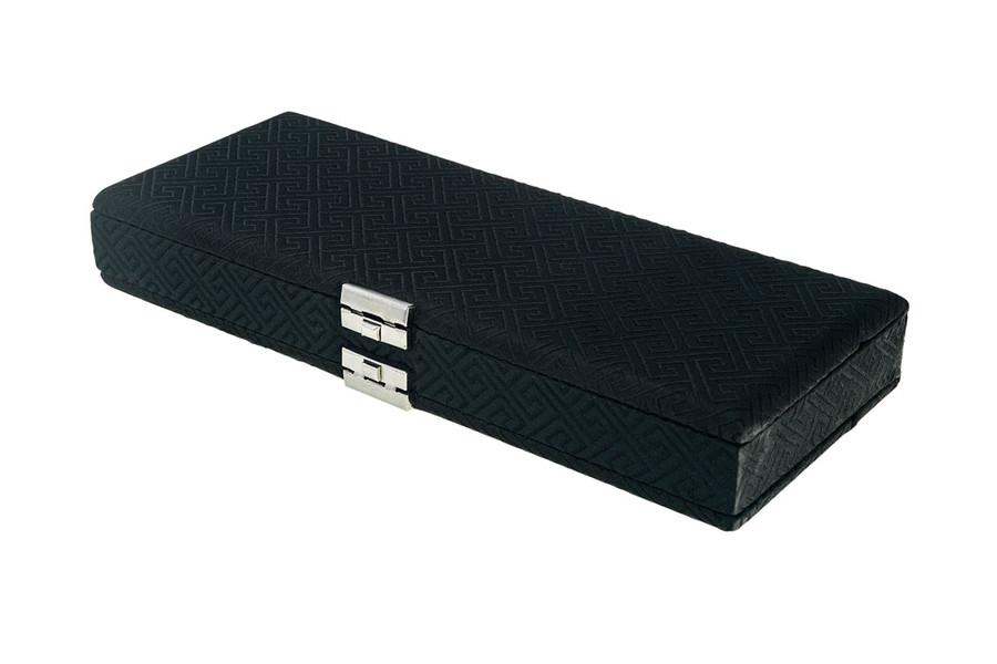 50-Reed Oboe Reed Case - Silk Black Egyptian Design