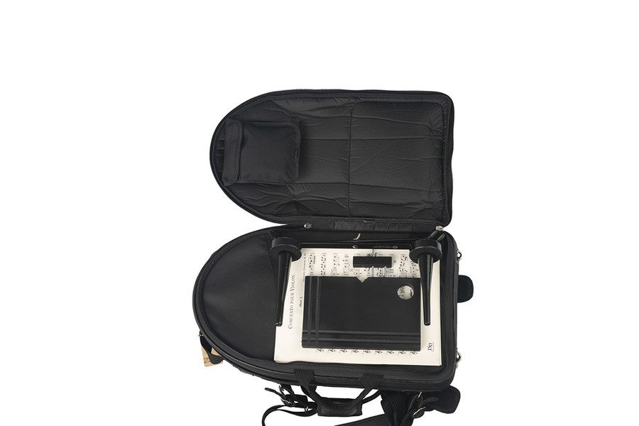 Marcus Bonna Oboe and English Horn Case, Nylon, Black, (rocket-style) - (Instrument not included)