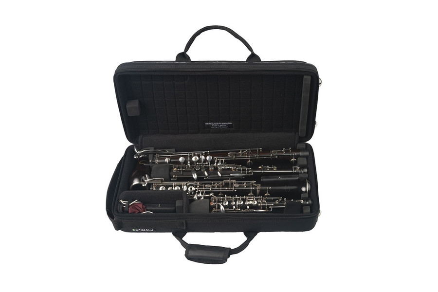 Marcus Bonna Oboe and English Horn Case, Mini, Nylon, Black (Instruments and accessories not included)
