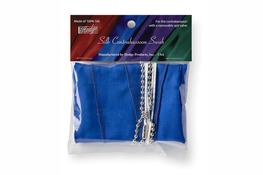 Hodge Silk Contrabassoon Swab, Royal Blue
