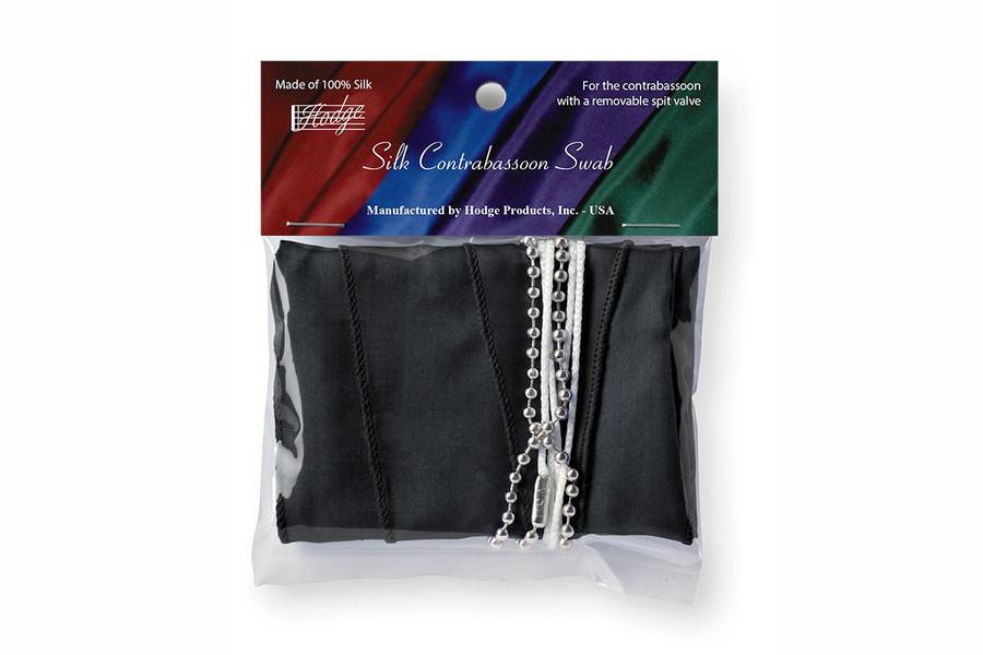 Hodge Silk Contrabassoon Swab, Performer's Black
