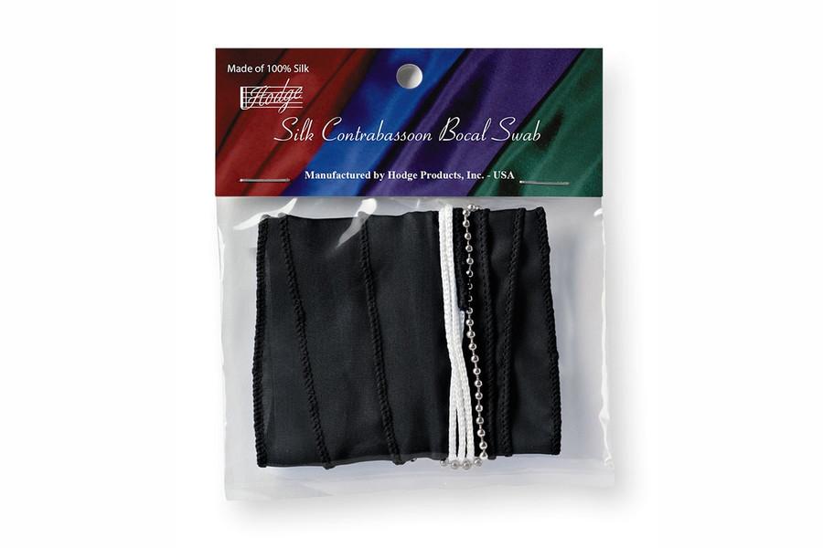 Hodge Silk Contrabassoon Bocal Swabs, Performer's Black