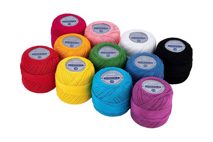 Omega #10 Cotton Thread, 173 yds
