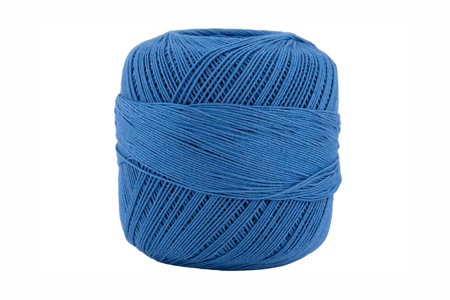 Omega #10 Cotton Thread, 173 yds - French Blue