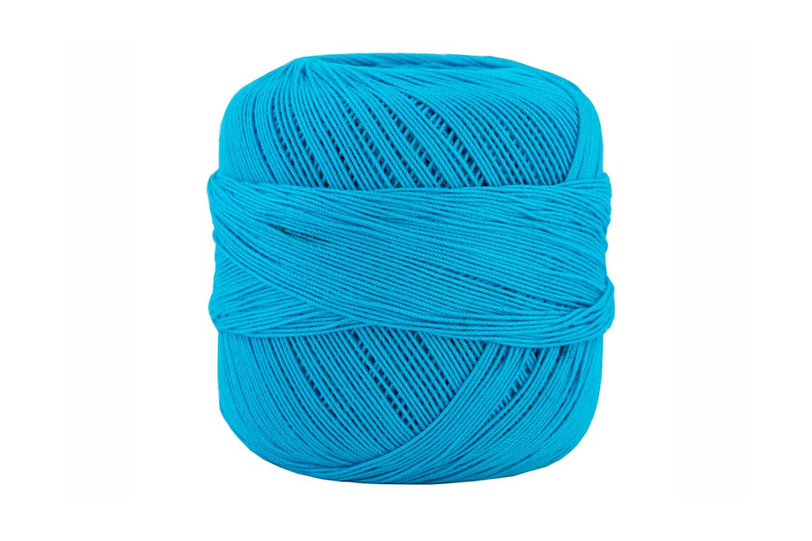 Omega #10 Cotton Thread, 173 yds - Turquoise