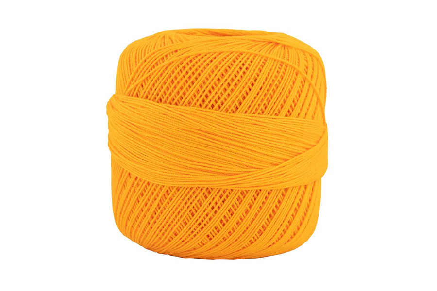 Omega #10 Cotton Thread, 173 yds - Mango