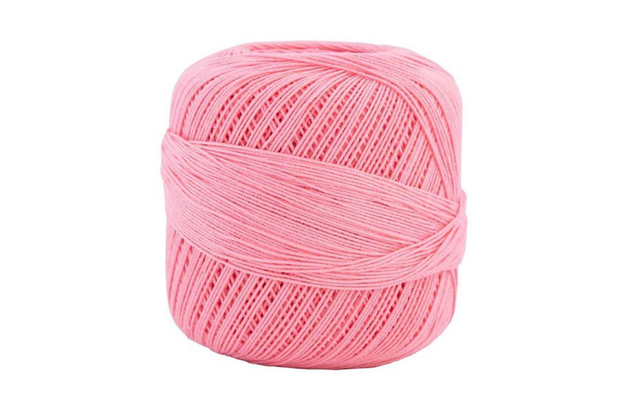 Omega #10 Cotton Thread, 173 yds - Rose