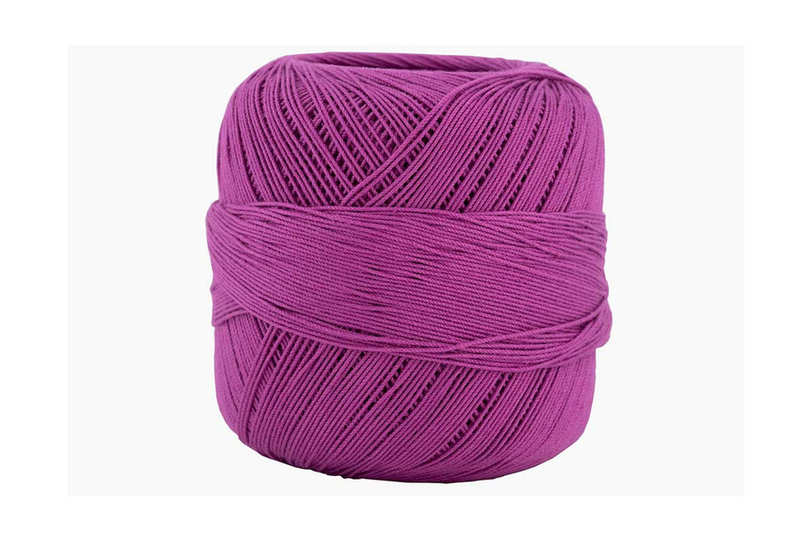 Omega #10 Cotton Thread, 173 yds - Bright Violet