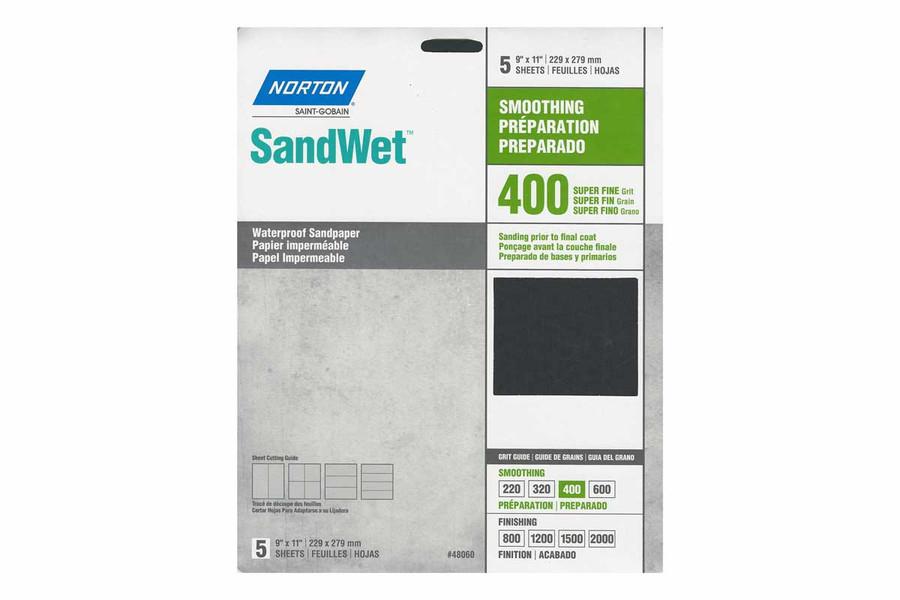 Norton Sandwet Sandpaper Sheets