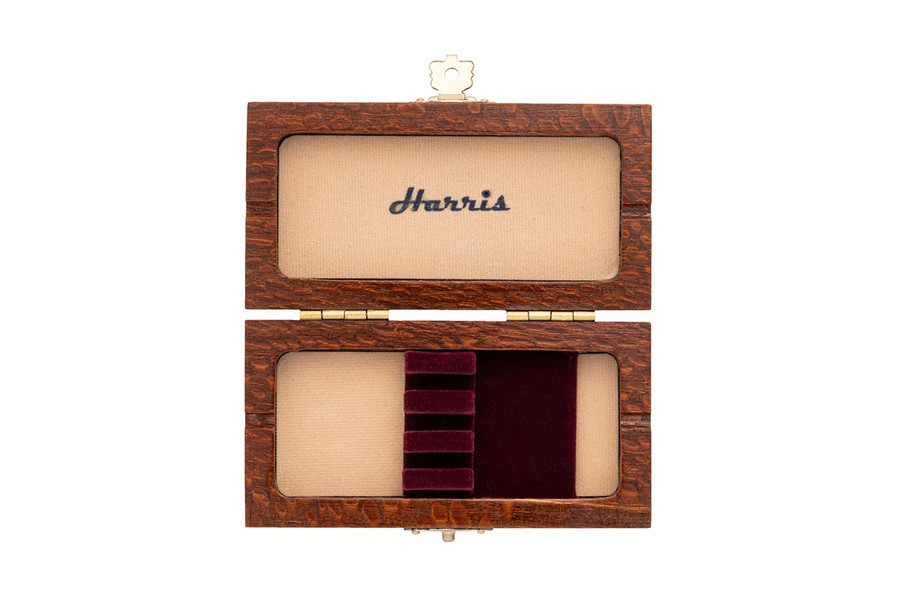 3-Reed Harris Oboe Reed Case (Leopard wood)