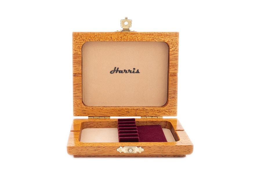 6-Reed Harris Oboe Reed Case - Cherry