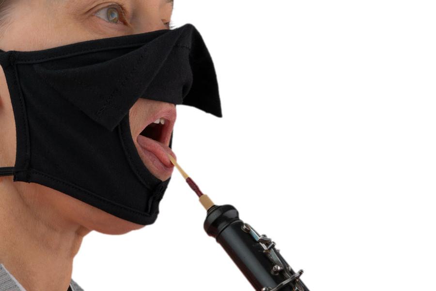Bell Barrier Musician Face Mask