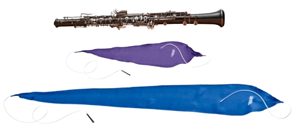 Hodge Silk Oboe Swabs:  Standard versus the European-style Long