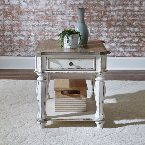 End Table - White