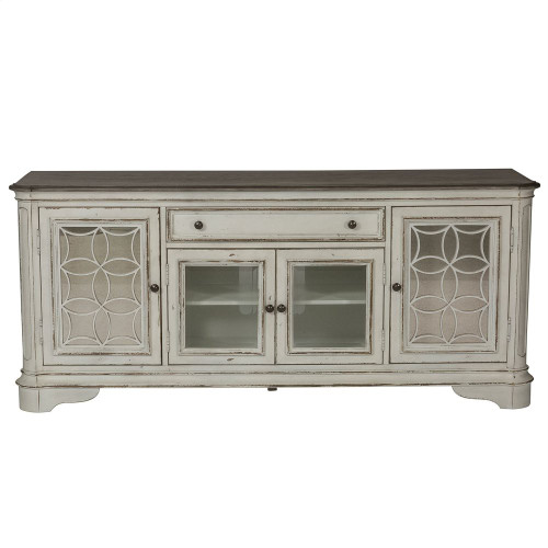 Entertainment Tv Stand - White