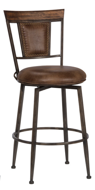 Danforth Commercial Swivel Counter Height Stool
