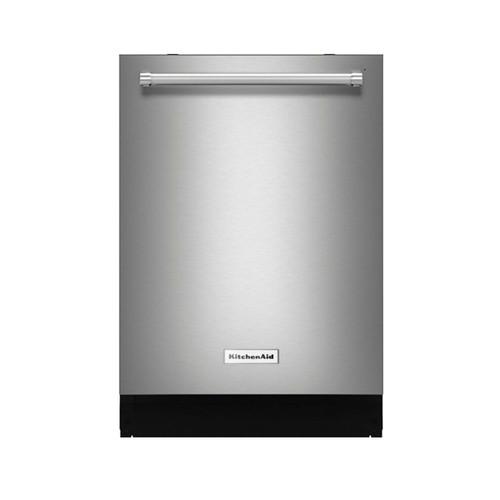 "KitchenAid - 24"" Built-In Dishwasher - Stainless steel"