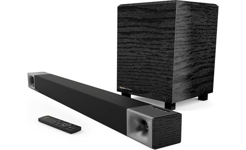 Klipsch Cinema 400 Powered 2.1-channel sound bar/sub system with Bluetooth®