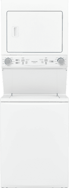 FRIG Frigidaire Electric Washer/Dryer Laundry Center - 3.9 Cu. Ft Washer and 5.5 Cu. Ft. Dryer