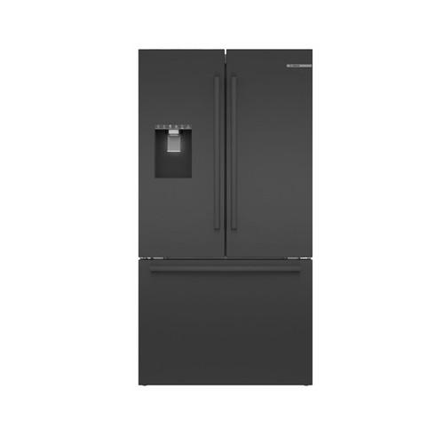 "Bosch 36"" Black Stainless Steel Standard-Depth 3-Door Refrigerator"