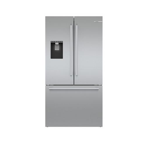 """Bosch 36"""" Stainless Steel Standard-Depth 3-Door Refrigerator"""