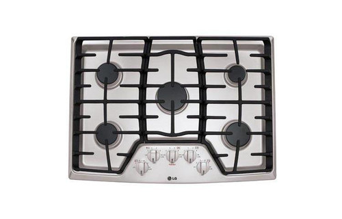"30"" Gas Cooktop with SuperBoil(TM)"