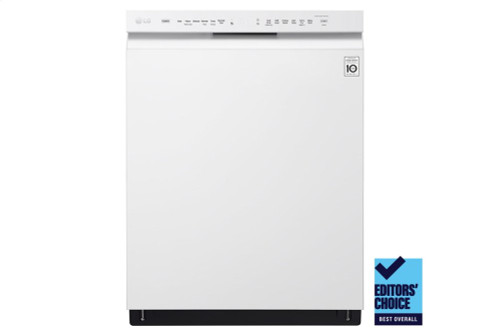Front Control Dishwasher with QuadWash(TM) and EasyRack(TM) Plus