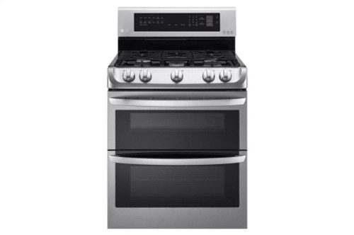 6.9 cu. ft. Gas Double Oven Range with ProBake Convection(R) and EasyClean(R) -  Stainless Steel