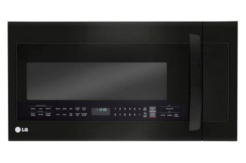 LG Matte Black Stainless Steel 2.0 cu.ft. Over-the-Range Microwave Oven with EasyClean(R)