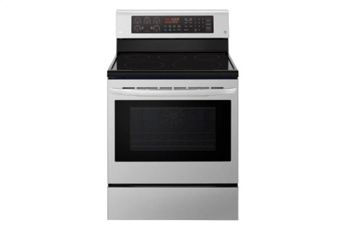 6.3 cu. ft. Electric Single Oven Range with True Convection and EasyClean(R)