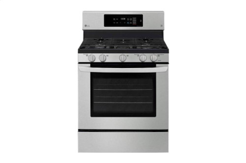 5.4 cu. ft. Gas Single Oven Range with Fan Convection and EasyClean(R)