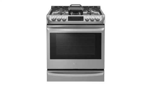 6.3 cu. ft. Gas Single Oven Slide-in Range with ProBake Convection(R) and EasyClean(R)
