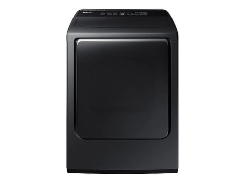 7.4 cu. ft. Electric Dryer with Integrated Controls in Black Stainless Steel