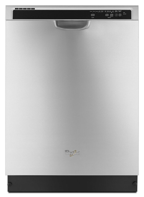 ENERGY STAR(R) certified dishwasher with Sensor cycle Monochromatic Stainless Steel