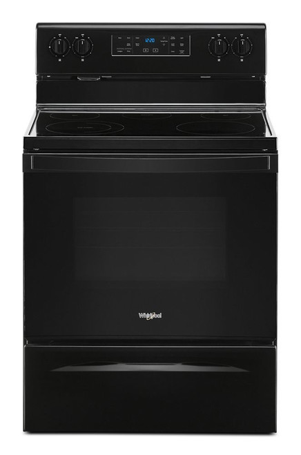 5.3 cu. ft. Whirlpool(R) electric range with Frozen Bake technology