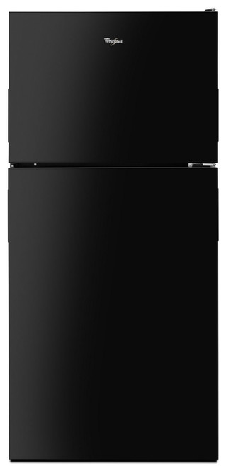 30-inch Wide Top Freezer Refrigerator - 18 cu. ft. Black