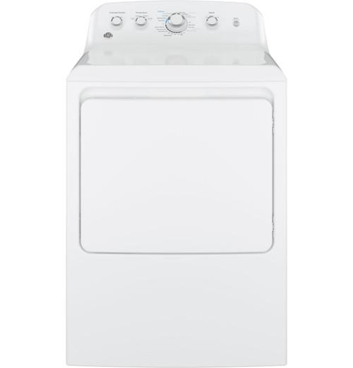 7.2 cu. ft. Capacity aluminized alloy drum Electric Dryer - White
