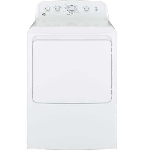 7.2 cu. ft. Capacity aluminized alloy drum Electric Dryer - White