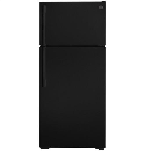 ENERGY STAR(R) 16.6 Cu. Ft. Top-Freezer Refrigerator - Black