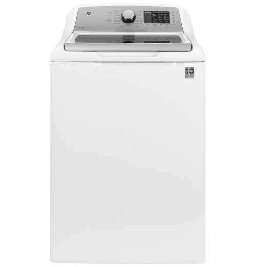 4.6 cu. ft. Capacity Washer with Sanitize w/Oxi and FlexDispense(TM) - White On Gray