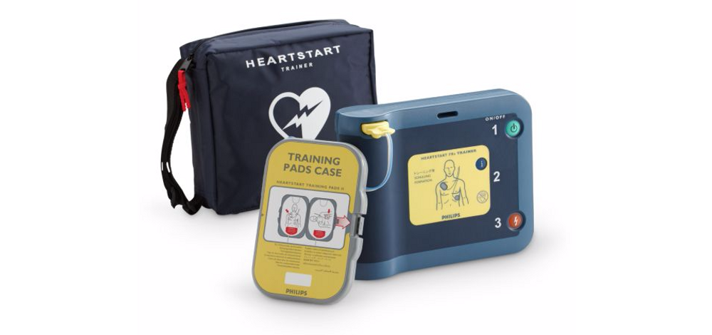 Philips HeartStart FRx replacement training pads with trainer