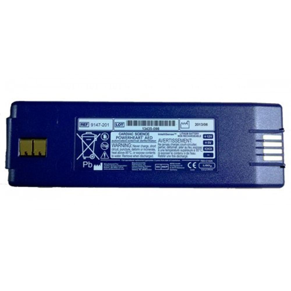Cardiac Science Powerheart G3 AED IntelliSense Lithium Battery- TSO142A Certified