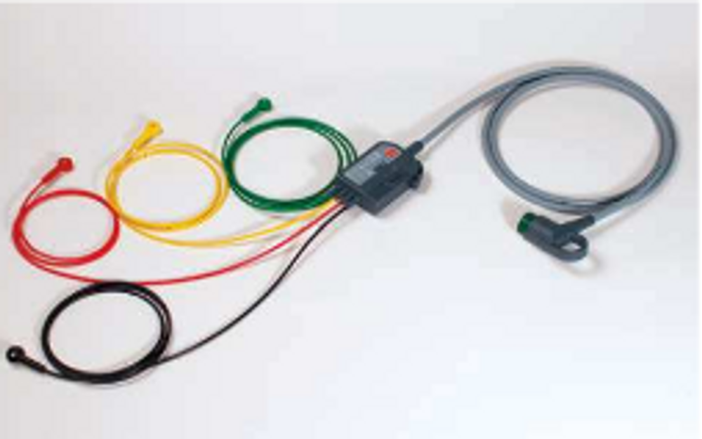 5ft Trunk cable with AHA limb leads 11111-000018