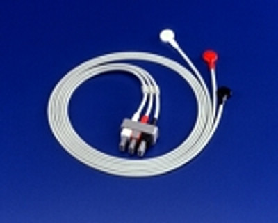 Philips 3 - Lead ECG Lead Set with Snaps (AAMI) M1605A