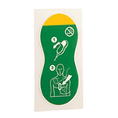 Q-CPR Compression Sensor Adhesive Pads (10) (1st Gen) M4762A