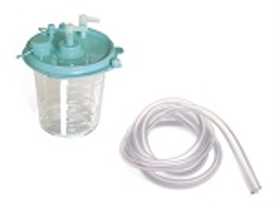 800 ml Disposable canister with tubing (qty 1)