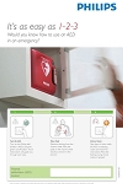 AED Awareness Posters (4-pack)