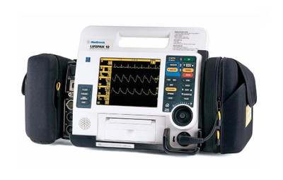 Physio Control Lifepak 12  Monitor Defibrillator Certified Pre-Owned